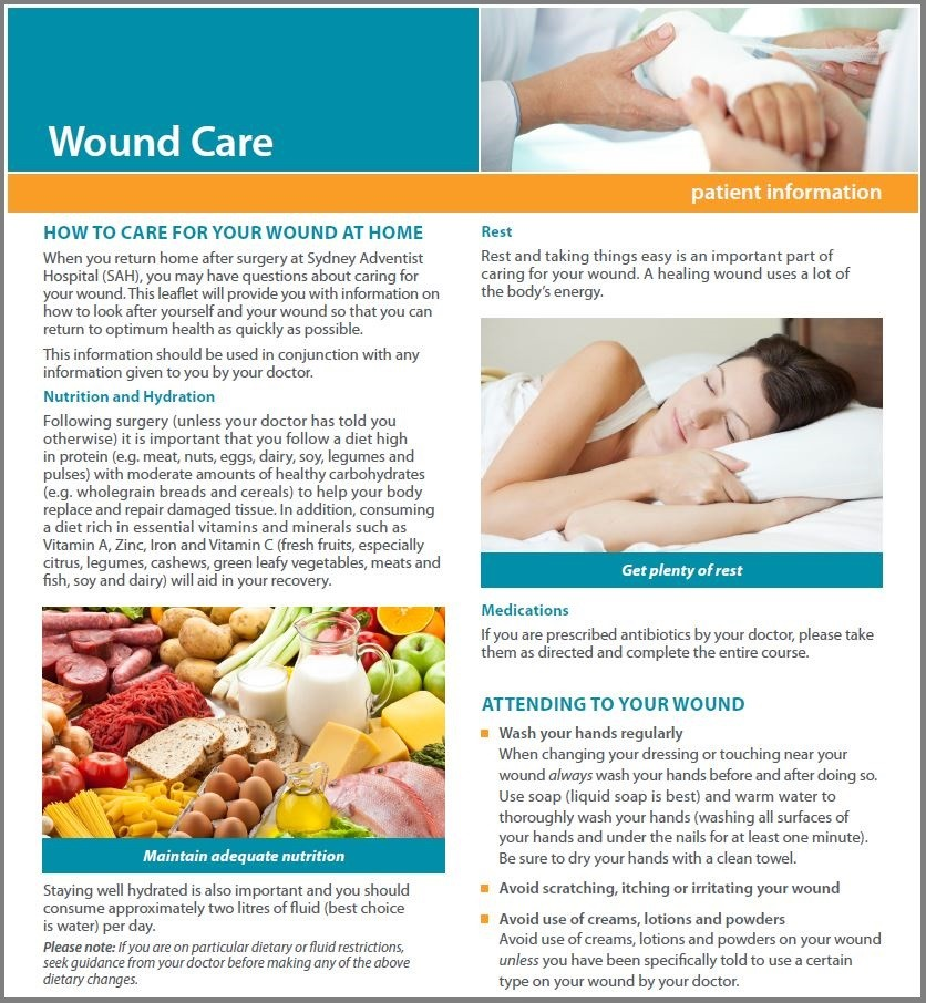 Wound Care Flyer