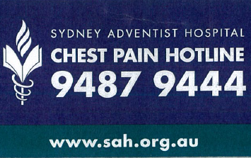 chest pain hotline