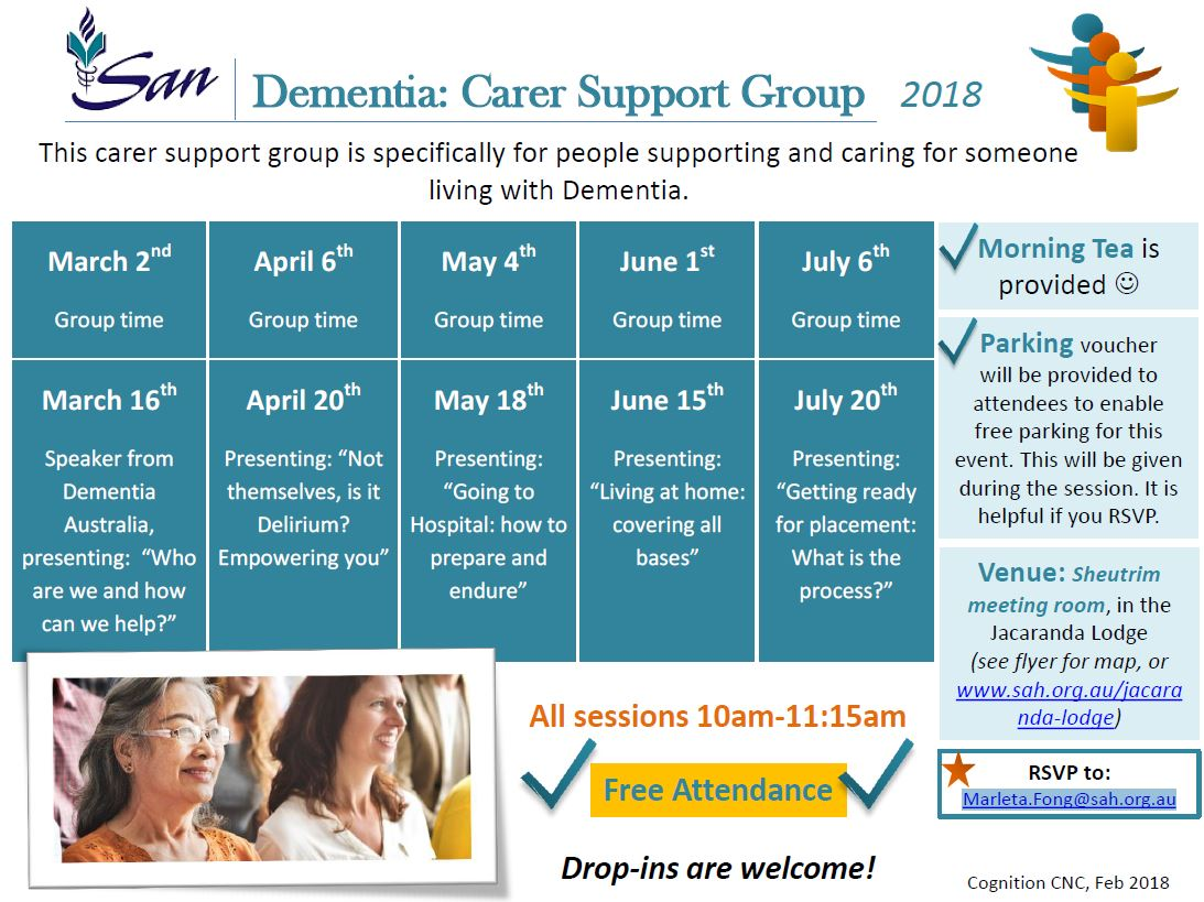 Dementia Carer Support Group