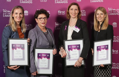 Finalists 2017 Premier's Award Woman of the Year